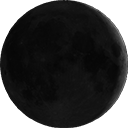 Zunehmende Mondin