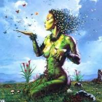 Göttinnen-Kunst